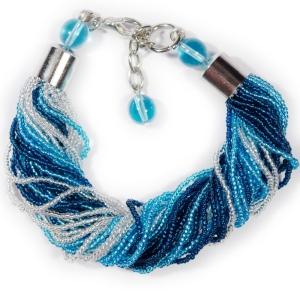 Браслет (Morgana) сине-голубой
