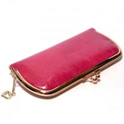 Малиновый кошелёк женский