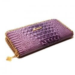 Кошелёк женский фиолетовый лаковый