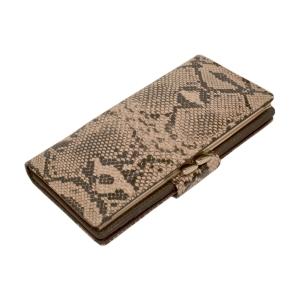 Гламурный женский кошелёк с тиснением под кожу питона