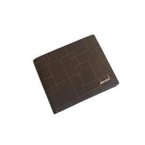 Мужской кошелек из натуральной кожи средне-коричневого цвета