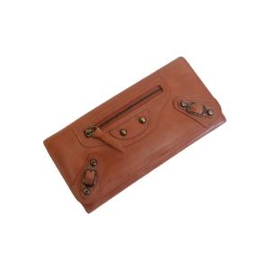 Женский кошелёк терракотового цвета из натуральной кожи
