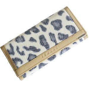 Добротный женский кошелёк -имитация змеиной кожи
