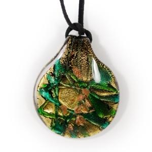 Кулон (Casanova) green-gold
