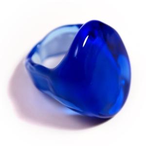 """Кольцо """"Мурано Синее"""""""