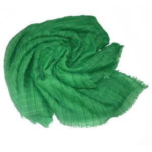 Платок жатый зеленый