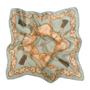 Шейный платок из натурального шелка