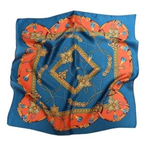 Восхитительный шейный платок из натурального шелка