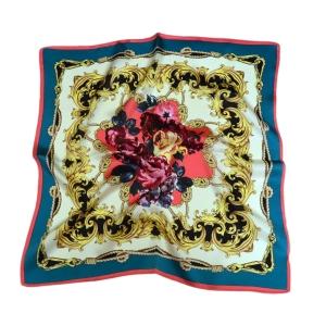 Романтичный шейный платок из натурального шелка