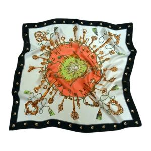 Сказочный шейный платок из натурального шелка