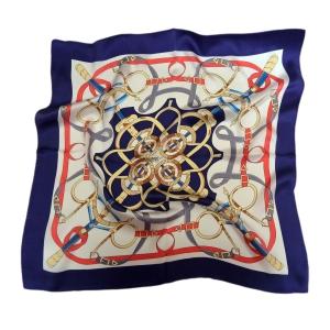 Красочный шейный платок из натурального шелка