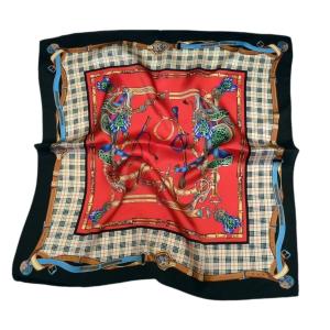 Модный шейный платок из натурального шелка