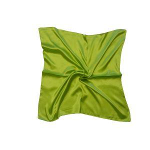 Женский шелковый платок. Однотонный. (салатовый)
