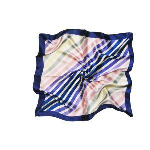 """Женский шейный платок """"Градированная диагональ"""""""