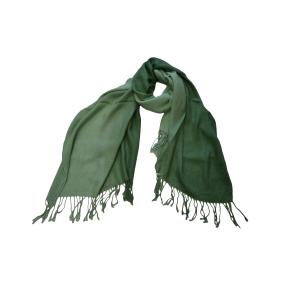 Шарф двухцветный мятно-зеленый