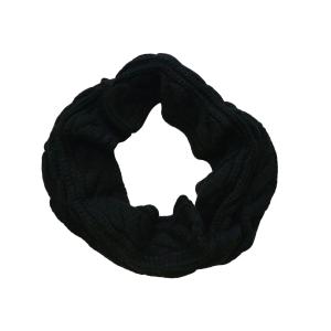 Шарф-труба (снуд) черного цвета