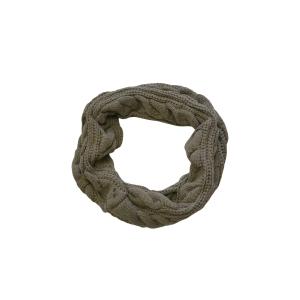 Шарф-труба (снуд) серого цвета