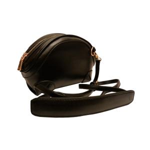 Стильная сумочка-ридикюль черная для модных особ