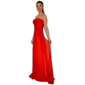 Длинное платье в стиле ампир