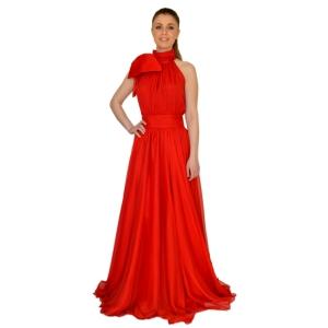 Вечернее платье с пышной длинной юбкой