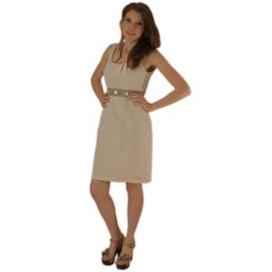 Женское платье из натурального шёлка